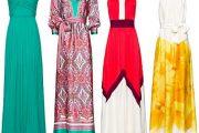 Vestidos coloridos para fiestas elegantes