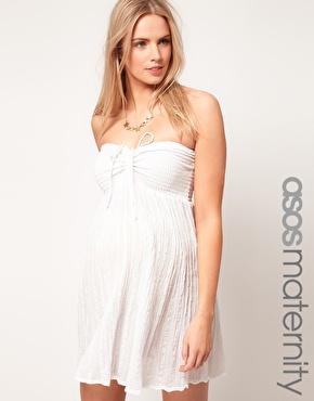 vestidos cortos para embarazadas
