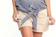 Moda elegante para embarazadas de moda 2012