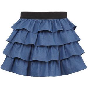 faldas con volantes