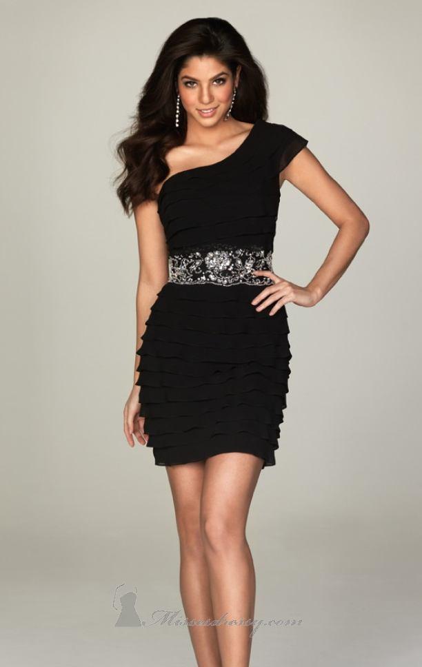 vestidos sexys color negro