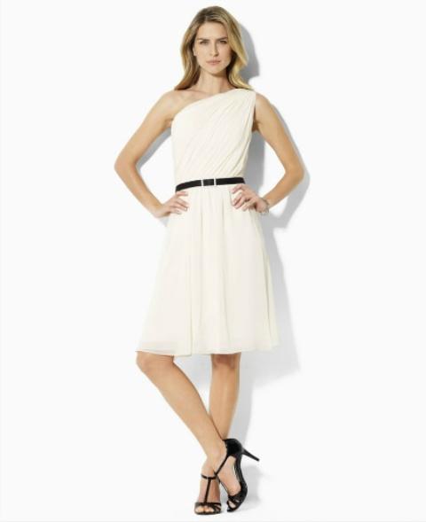 vestidos corte en la cintura