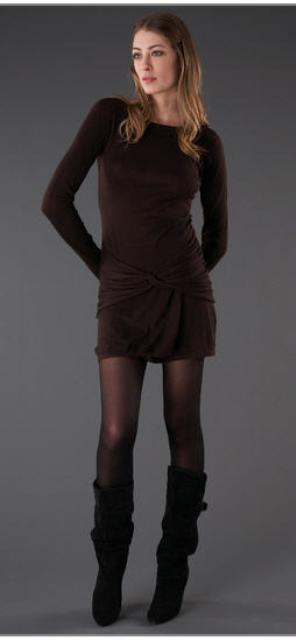 vestidos para el frío