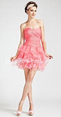 vestidos con volados 2012