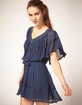 vestidos cortos y largos casuales