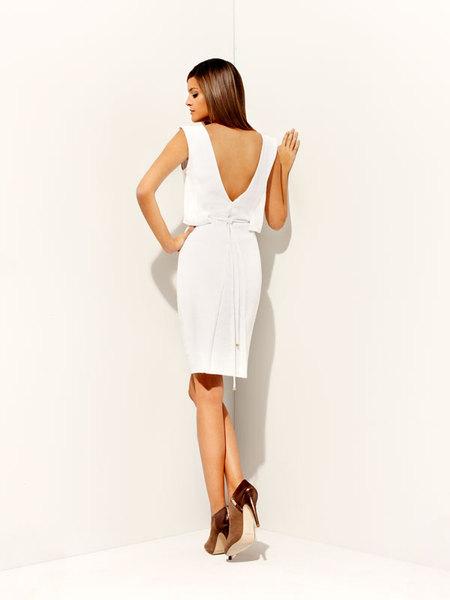 vestidos de color blanco 2012