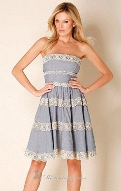 vestidos de playa de moda 2012
