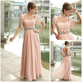 vestidos largos para madrinas de bodas
