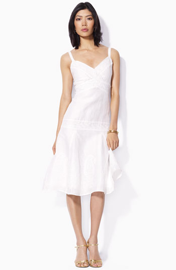vestidos manga cero