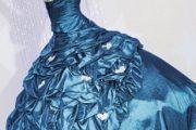 Imágenes de vestidos de quince años en color azul