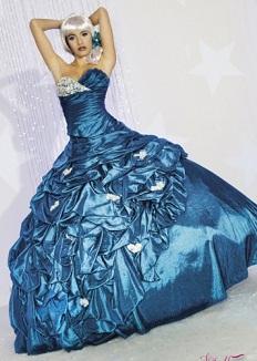 vestidos vaporosos para quinceañeras