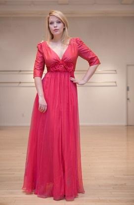 vestidos largos para señoras