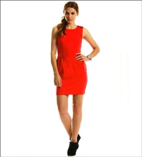 vestidos colores combinados
