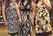 Modelos de vestidos ligeros para gorditas 2012