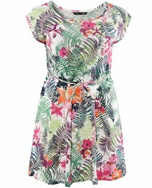 vestidos floreados gorditas