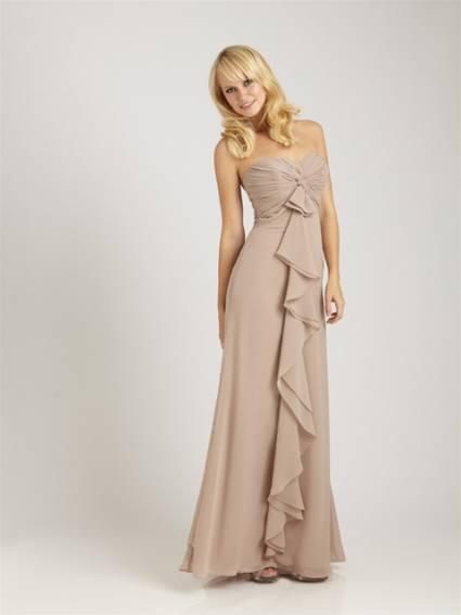 vestidos sueltos de moda 2012