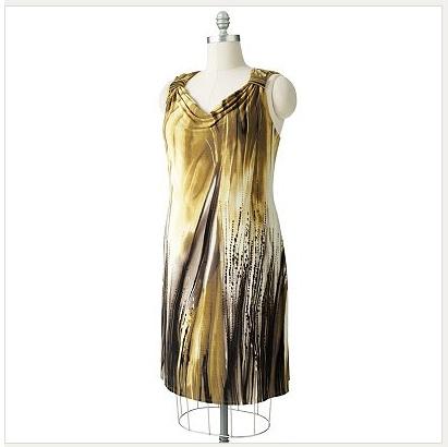 vestidos modernos gorditas 2012