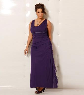 vestidos casuales de tallas grandes