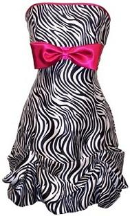 vestidos de cebra