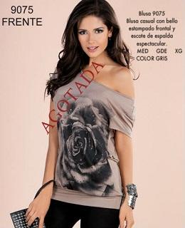 blusas apretadas de moda