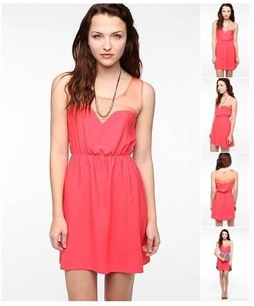 vestidos sencillos de verano 2012