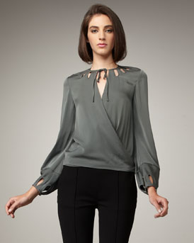 blusas elegantes para salir a pasear