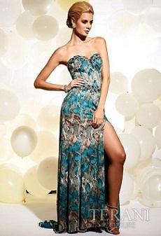 modelos de vestidos con cola