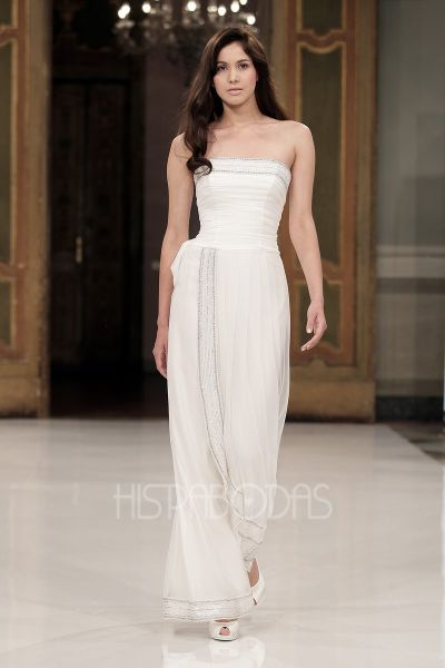vestidos blancos para boda civil