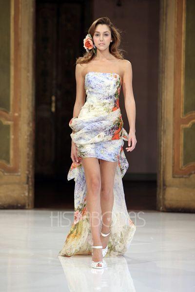 vestidos boda civil cortos color