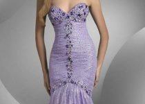 vestidos escotados de moda 2012