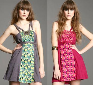 vestidos estampados de diario
