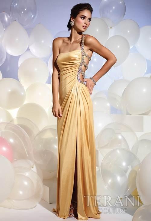 vestidos de noche largos elegantes brillantes