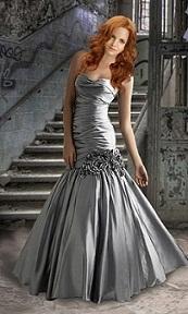 vestidos vaporosos de noche 2012