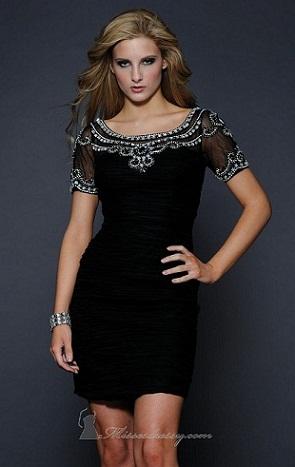 vestidos largos y cortos elegantes