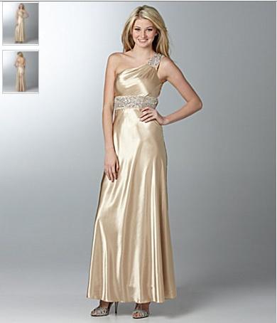 vestidos dorados brillantes de fiesta