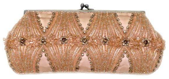 bolsos dorados de mano