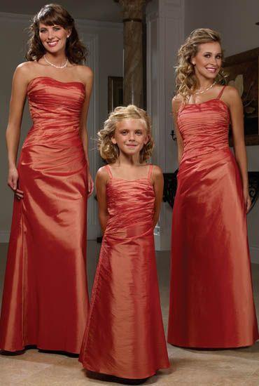 vestidos damitas de honor