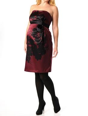 vestidos largos y cortos embarazadas