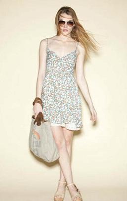 vestidos floreados casuales