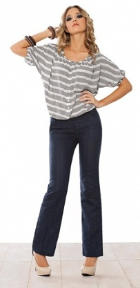 modelos de pantalones formales
