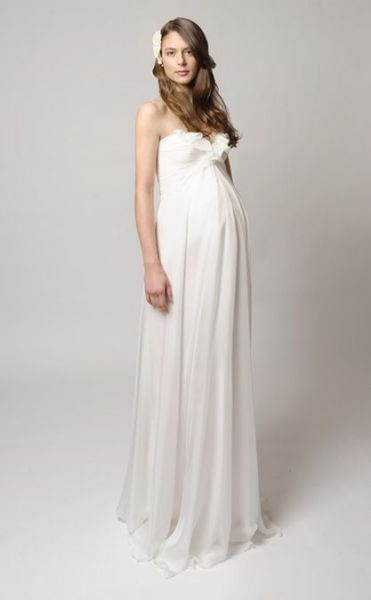 vestidos delicados para embarazadas