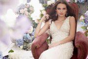 Vestidos románticos para novias 2012