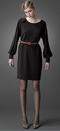 vestidos cortos de invierno