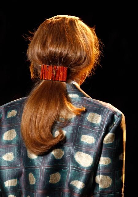peinados cola de caballo 2012