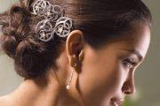 Modelos de peinados con trenzas para novias