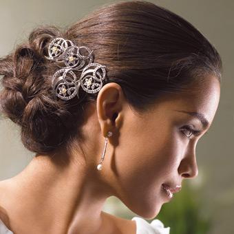 peinados para novias modernas