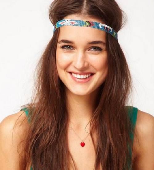 peinados con accesorios de cabello