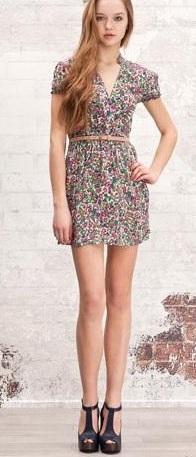 vestidos casuales de verano 2012