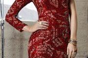 Maravillosos vestidos cortos de noche 2012