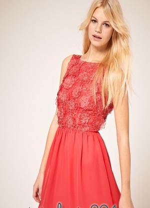 modelos de vestidos rojos